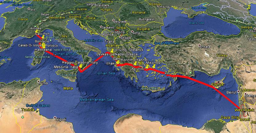 Leopard 48 Mediterranean Route