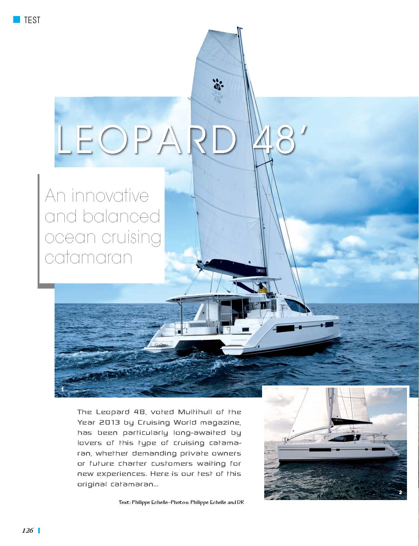 Leopard 48 Review by Multihull Magazine